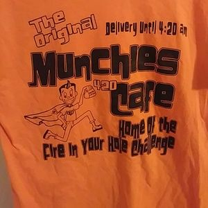 Munchies 420 cafe t shirt